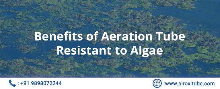 Benefits of Aeration Tube Resistant to Algae
