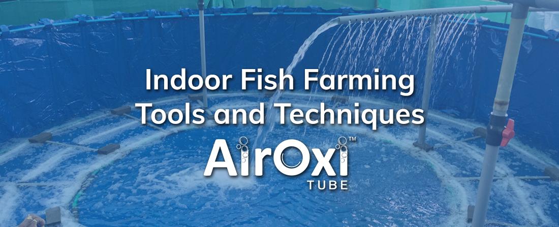 Indoor Fish Farming Tools and Techniques-AirOxi Tube