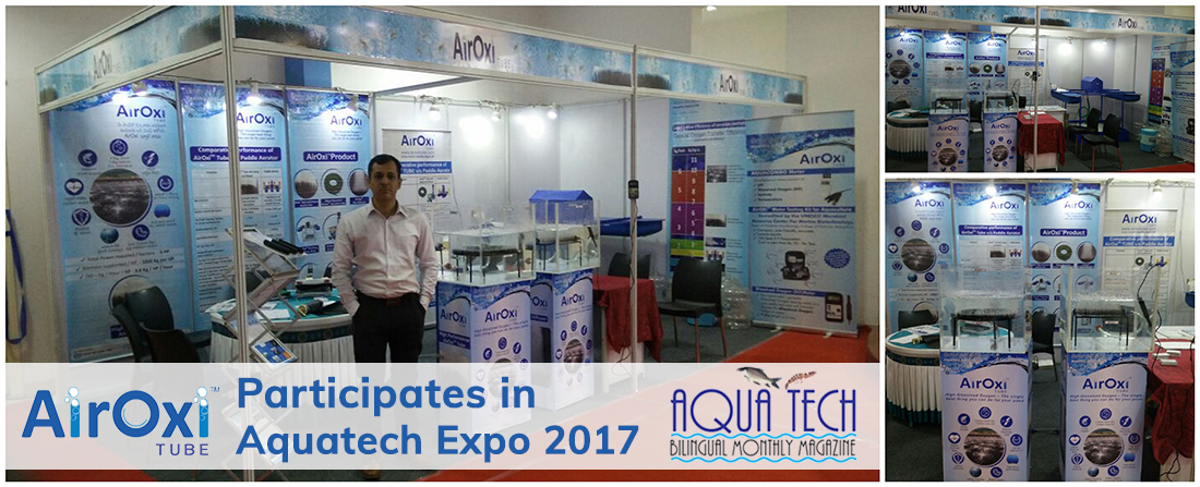 AirOxi Tube Participates in Aquatech Expo 2017