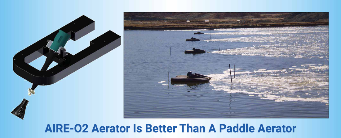 AIRE-O2 Aerator Is Better Than A Paddle Aerators