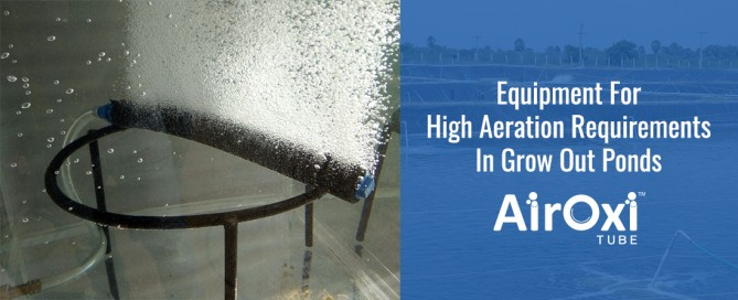 Equipment For High Aeration Requirements In Grow Out Ponds-AirOxi Tube