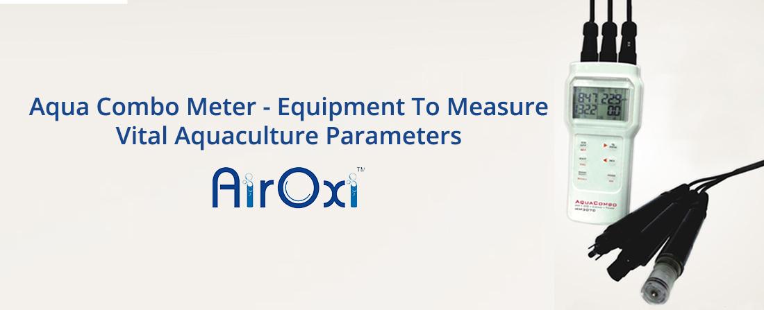 Aqua Combo Meter - Equipment To Measure Vital Aquaculture Parameters-AirOxi Tube
