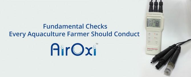 Fundamental Checks Every Aquaculture Farmer Should Conduct-AirOx Tube