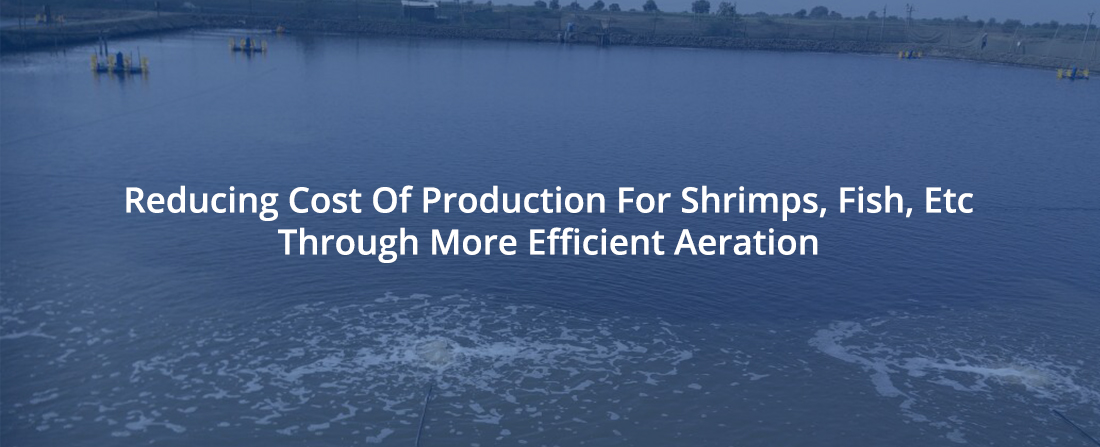Reducing Cost Of Production Through More Efficient Aeration-AirOxi Tube