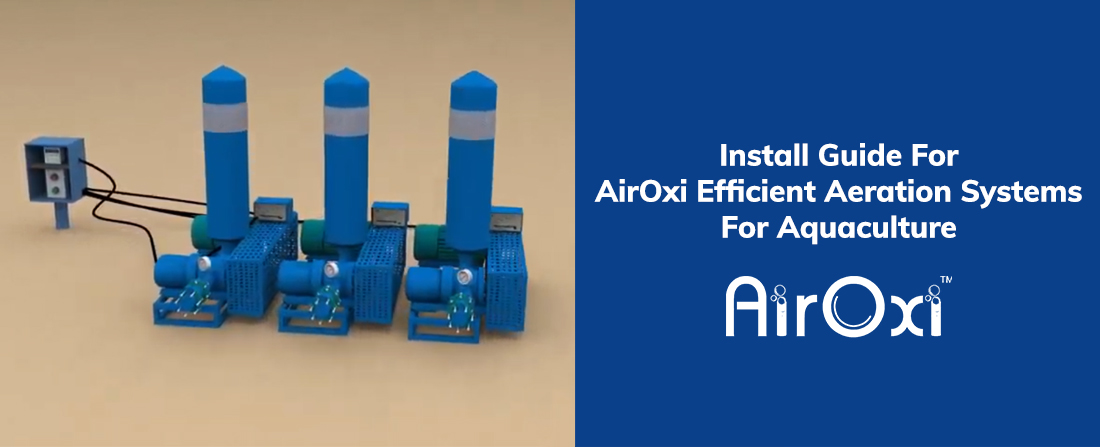 Install Guide For AirOxi Efficient Aeration Systems For Aquaculture