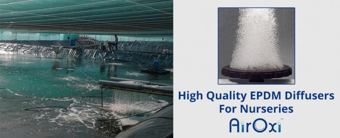 High Quality EPDM Diffusers For Nurseries-AirOxi Tube Aeration Solutions