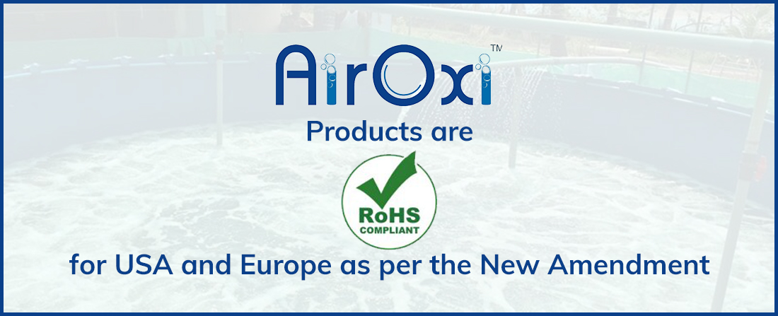 AirOxi Tube Products are RoHS Compliant for USA and Europe