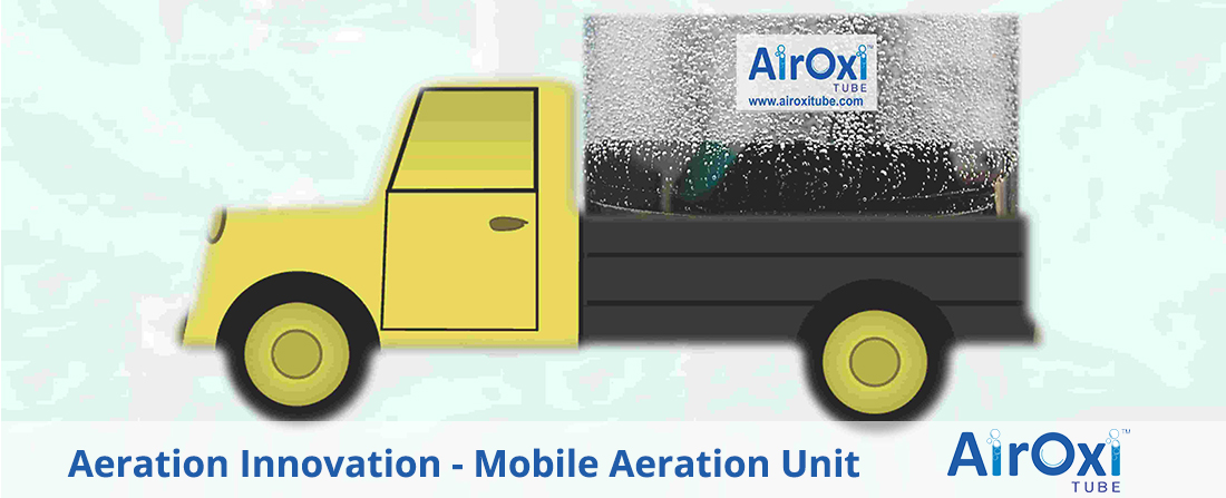 Aeration Innovation - Mobile Aeration Unit - AirOxi Tube