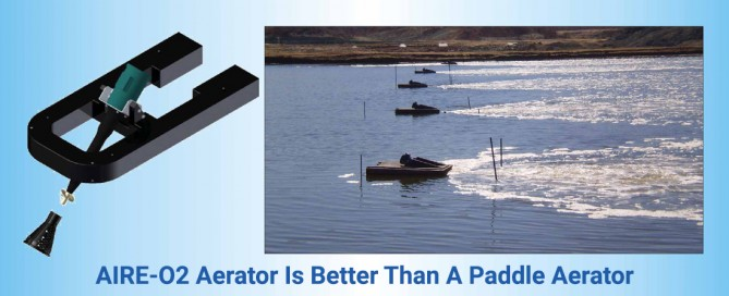 AIRE-O2 Aerator Is Better Than A Paddle Aerator-AirOxi Tube
