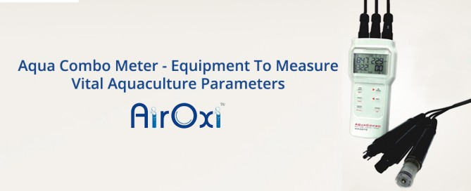 Aqua Combo Meter - Equipment To Measure Vital Aquaculture Parameters-AirOxi Tube