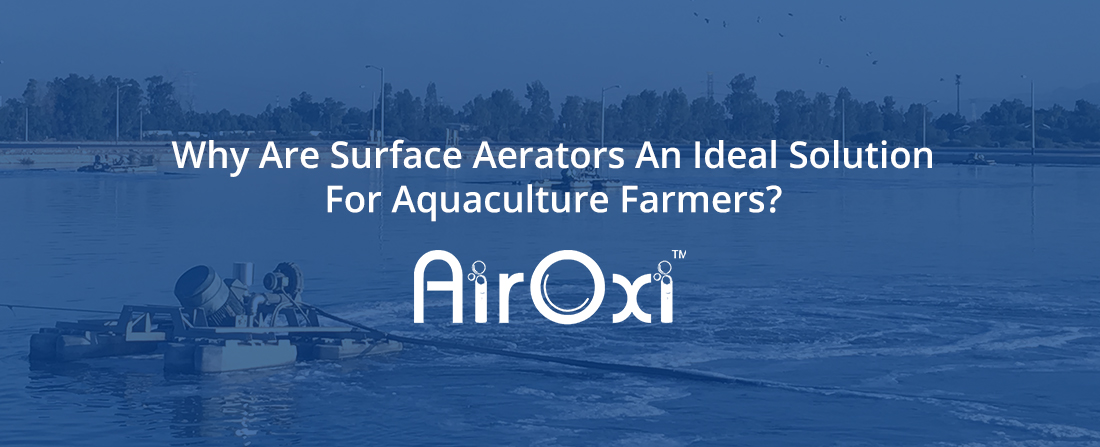 Why Are Surface Aerators An Ideal Solution For Aquaculture Farmers?