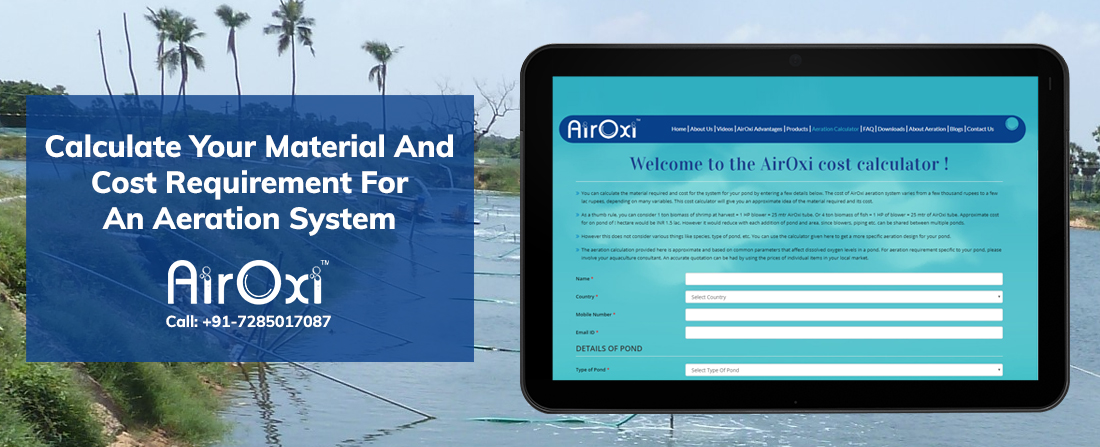 Calculate Your Material And Cost Requirement For An Aeration System-AirOxi Tube