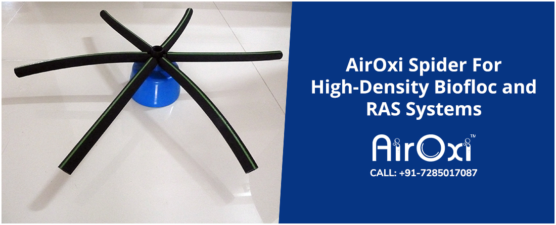AirOxi Spider For High-Density Biofloc and RAS Systems