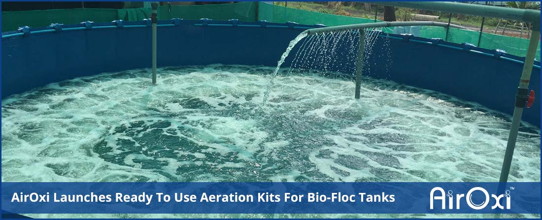 AirOxi Launches Ready To Use Aeration Kits For Bio-Floc Tanks