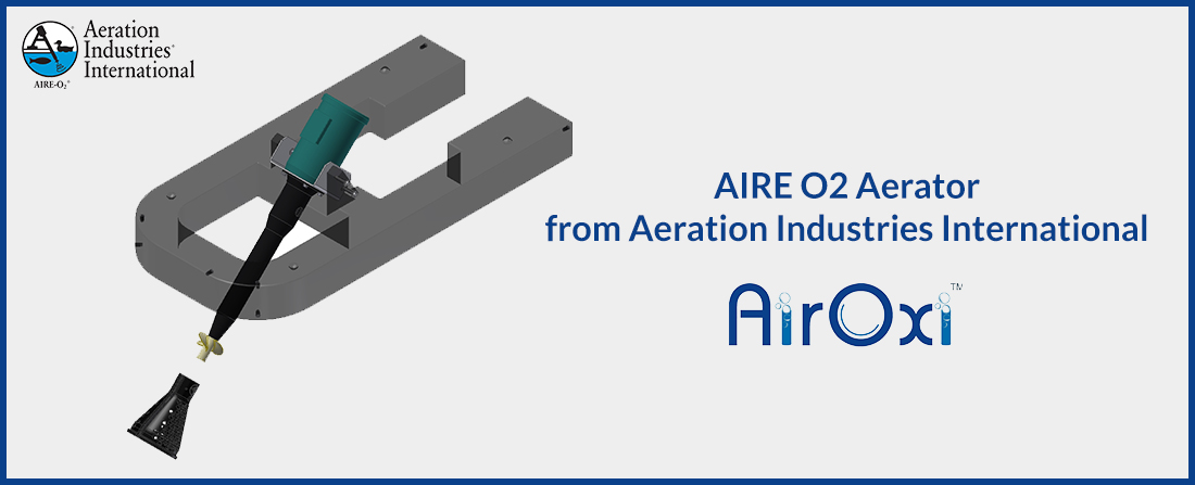 AIRE O2 Aerator from Aeration Industries International