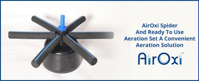 AirOxi Spider And Ready To Use Aeration Set A Convenient Aeration Solution