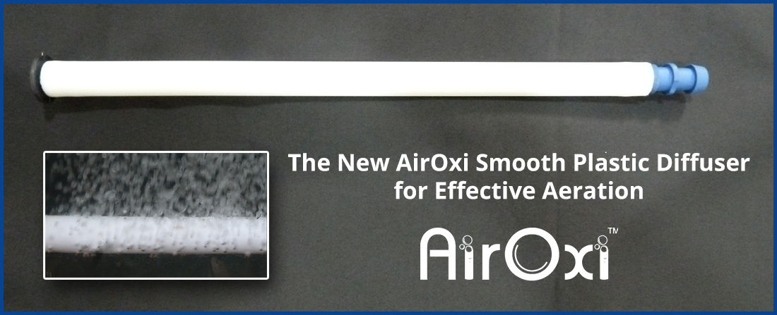The New AirOxi Smooth Plastic Diffuser for Effective Aeration-AirOxi Tube - Aeration Solutions