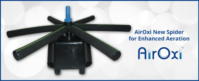 AirOxi New Spider for Enhanced Aeration-AirOxi Tube
