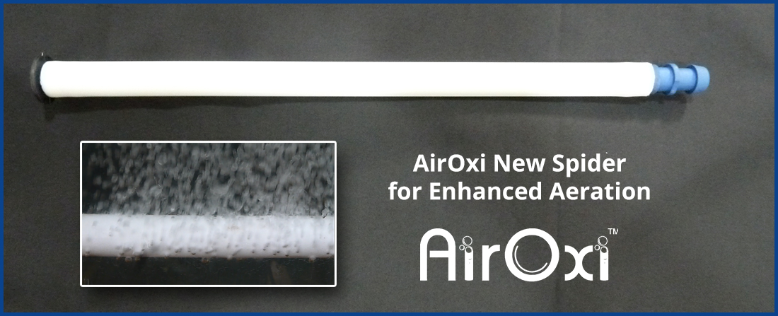 The New AirOxi Smooth Plastic Diffuser for Effective Aeration-AirOxi Tube