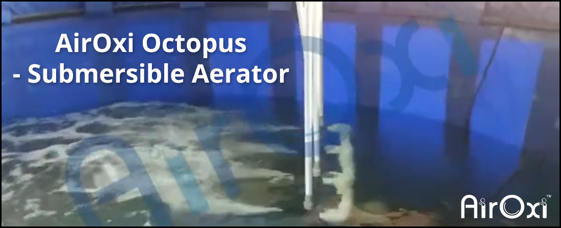 AirOxi Octopus – Submersible Aerator