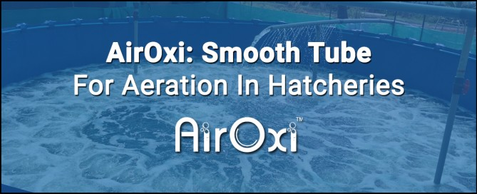 AirOxi: Smooth Tube For Aeration In Hatcheries-AirOxi Tube-Aquaculture Aeration Solutions