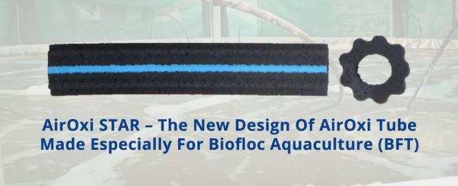 AirOxi STAR aeration tube for Biofloc Aquaculture-AirOxi Tube