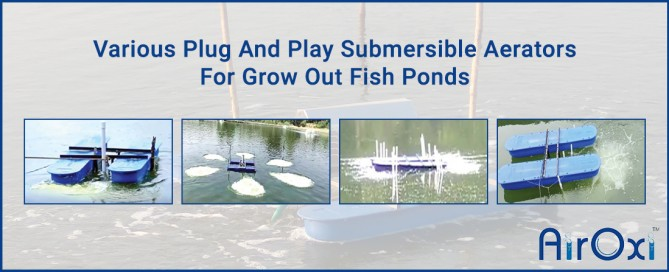 Various Plug And Play Submersible Aerators For Grow Out Fish Ponds-AirOxi Tube